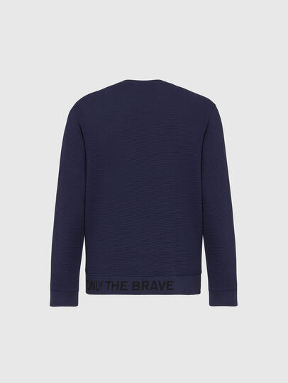 Diesel - S-PEWTER, Dark Blue - Sweaters - Image 2