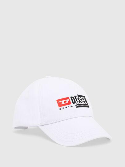 Diesel - CAP-CUTY, White - Caps - Image 1