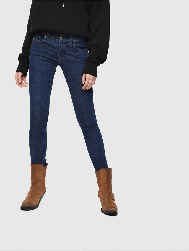 Diesel - Slandy Low 082AA, Medium blue - Jeans - Image 1