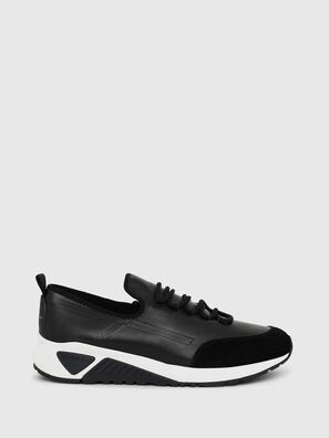 S-KBY, Black Leather - Sneakers