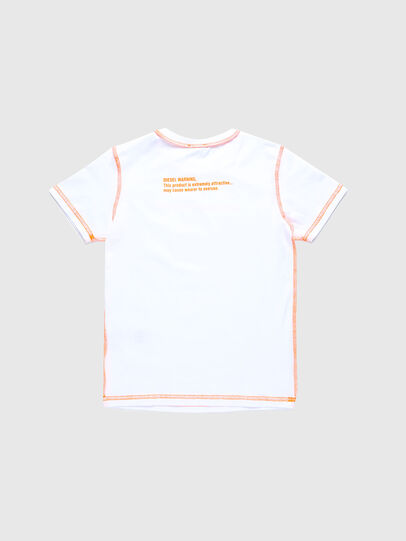 Diesel - TJUSEAM, White - T-shirts and Tops - Image 2