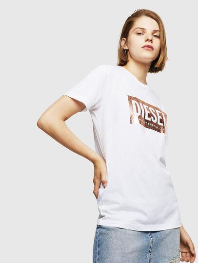 Diesel - T-FOIL, White - T-Shirts - Image 1