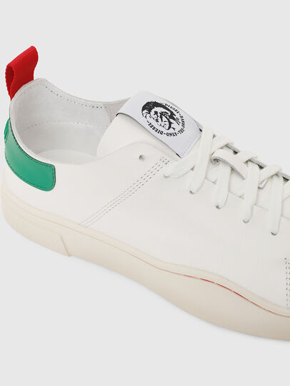 Diesel - S-CLEVER LS, White/Green - Sneakers - Image 5