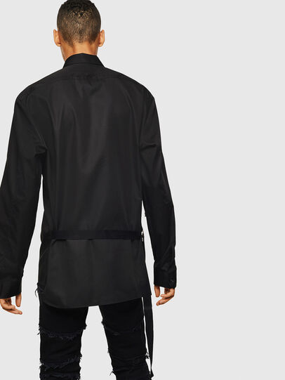 Diesel - S-PATCH-P, Black - Shirts - Image 2