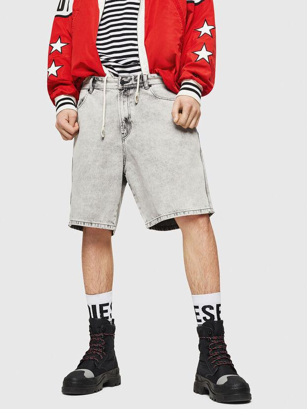 D-WILLOH, Light Grey - Shorts