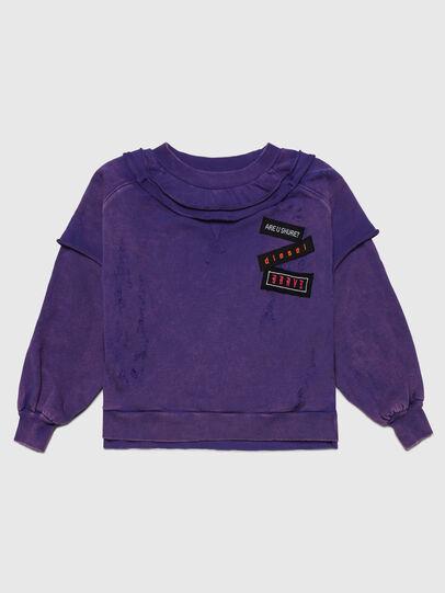 Diesel - STRATY, Violet - Sweaters - Image 1