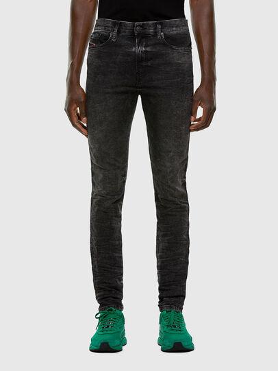 Diesel - D-REEFT JoggJeans® 009FZ, Black/Dark grey - Jeans - Image 1