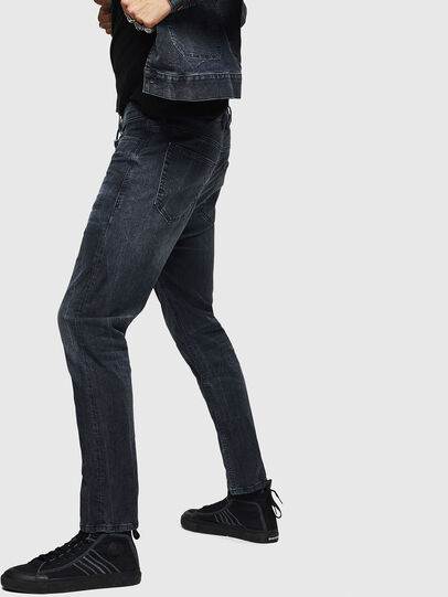 Diesel - D-Vider JoggJeans 0090H, Dark Blue - Jeans - Image 4