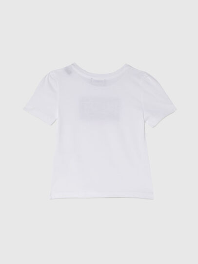 Diesel - TRIDGEB-R, White - T-shirts and Tops - Image 2
