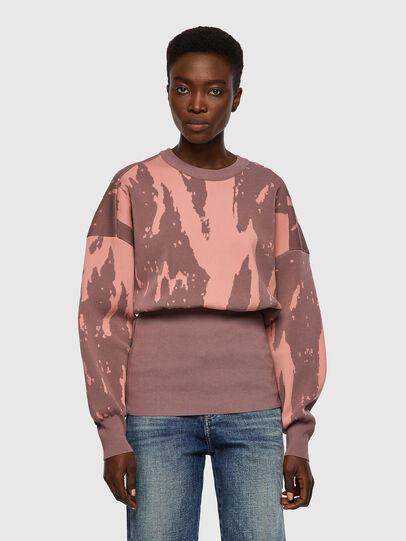 Diesel - M-ALABAMA, Pink - Knitwear - Image 1