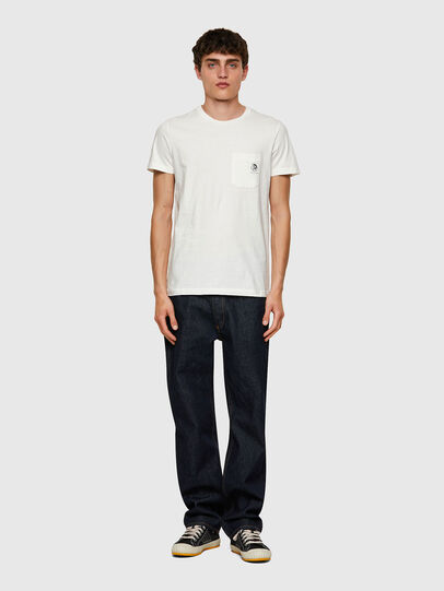Diesel - T-WORKY-MOHI, White - T-Shirts - Image 4