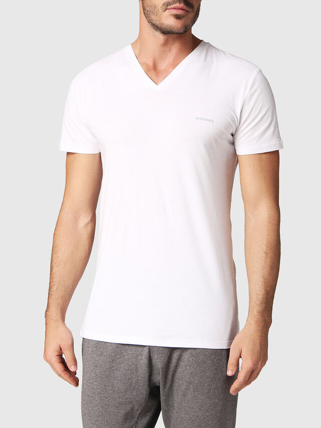 Diesel UMTEE-MICHAEL2PACK, White - Tops - Image 2