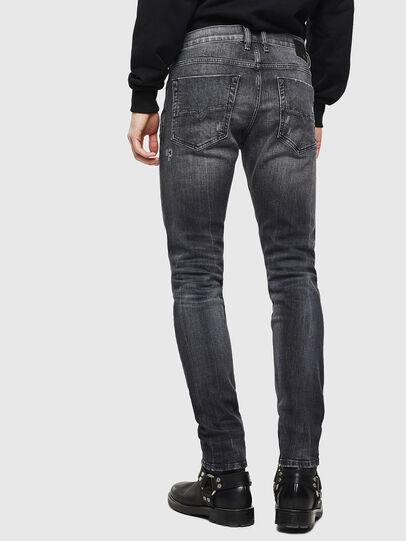 Diesel - Tepphar 0095J, Black/Dark grey - Jeans - Image 2