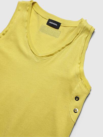 Diesel - DSLOAN, Yellow - Dresses - Image 3