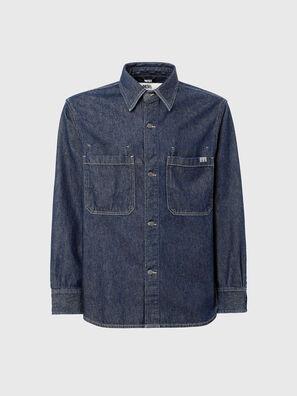 D-RAPP, Dark Blue - Denim Shirts