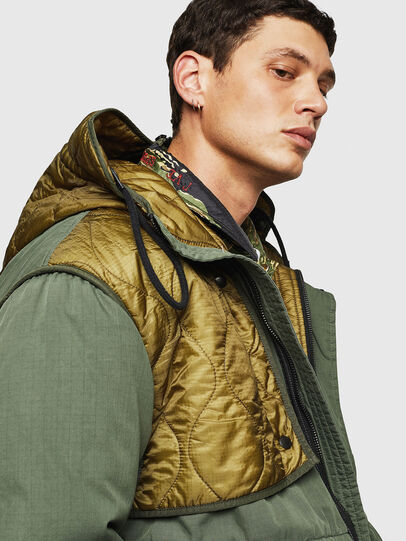 Diesel - W-KOVIK, Military Green - Winter Jackets - Image 3