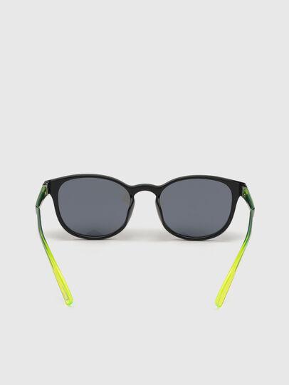 Diesel - DL0328, Black/Yellow - Sunglasses - Image 4