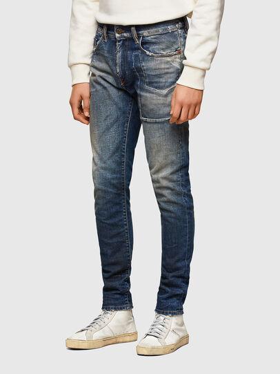 Diesel - D-Strukt 009TX, Dark Blue - Jeans - Image 3