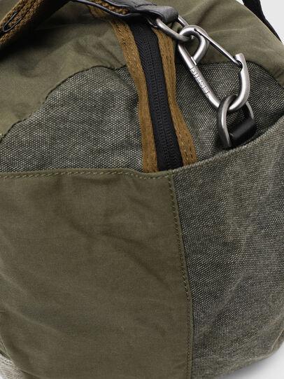 Diesel - D-THISBAG TRAVEL BAG, Olive Green - Travel Bags - Image 5