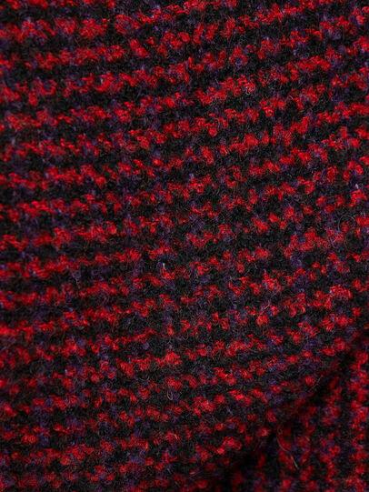 Diesel - W-SAMOEI-A, Black/Red - Winter Jackets - Image 5