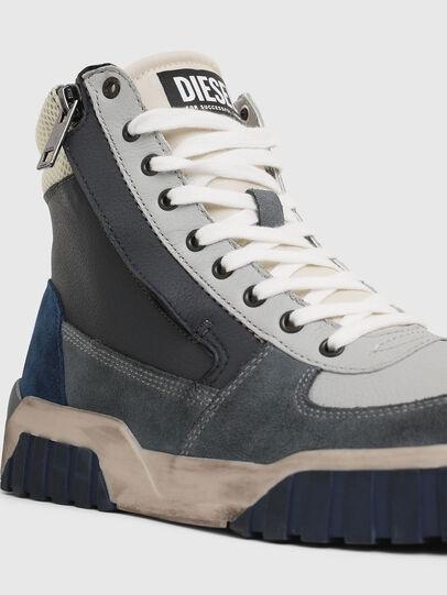 Diesel - S-RUA MID, Grey - Sneakers - Image 4