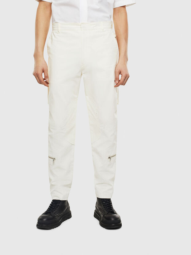 P-ARMY, White - Pants
