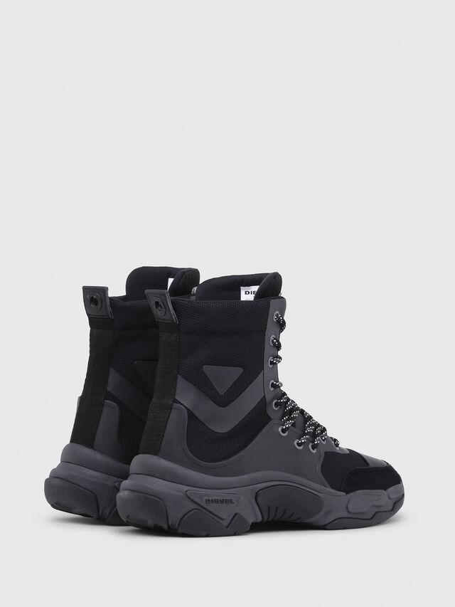 Diesel - S-KIPPER MID LACE, Black - Sneakers - Image 3