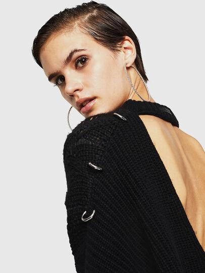 Diesel - MEBLY, Black - Knitwear - Image 3