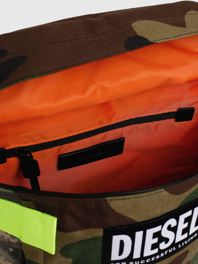 Diesel - PIEVE, Green Camouflage - Backpacks - Image 5