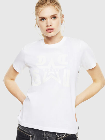 Diesel - T-SILY-WMA, White - T-Shirts - Image 1