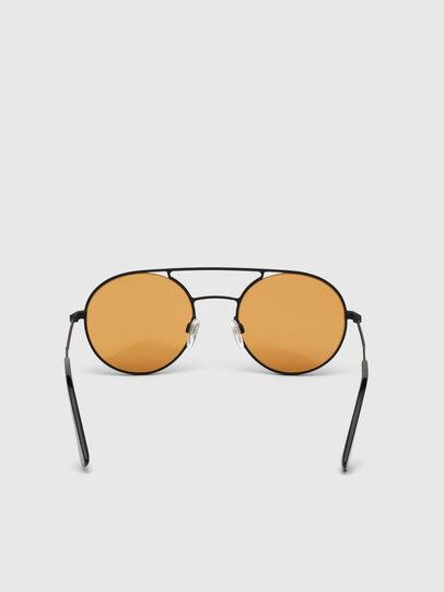 Diesel - DL0301, Orange/Black - Sunglasses - Image 3