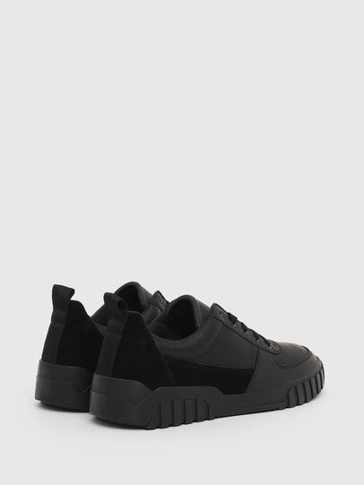 Diesel - S-RUA LOW, Black - Sneakers - Image 3