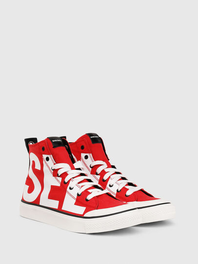 Diesel - S-ASTICO MC, Red/White - Sneakers - Image 2