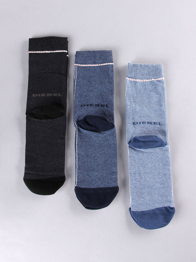 SKM-RAY-THREEPACK, Blue/grey melange