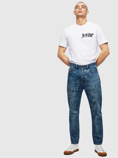 Diesel - T-JUST-T31, White - T-Shirts - Image 6