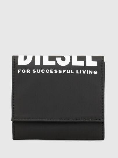 Diesel - YOSHINO LOOP II, Black - Small Wallets - Image 1