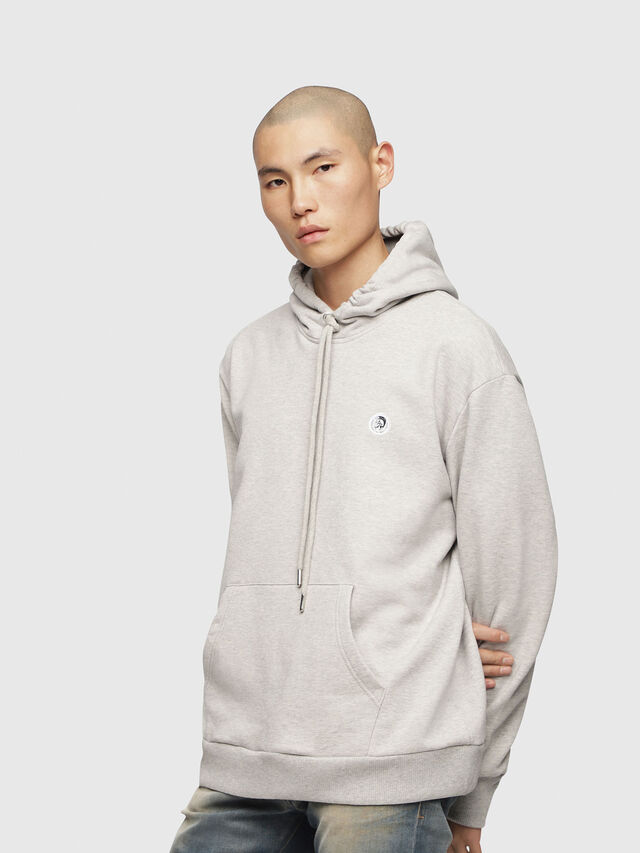Diesel - S-AFTER, Light Grey - Sweaters - Image 1