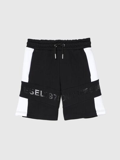 Diesel - PSHAM, Black/White - Shorts - Image 1