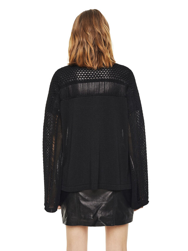 Diesel - MOFRAN, Black - Knitwear - Image 2