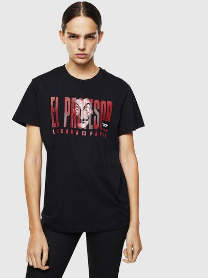 Diesel - LCP-T-DIEGO-ELPROFES, Black - T-Shirts - Image 2
