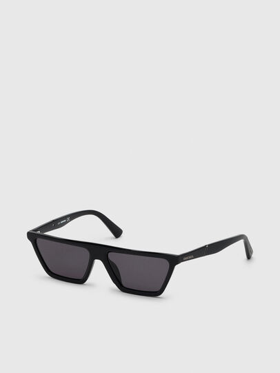 Diesel - DL0304, Black - Sunglasses - Image 2