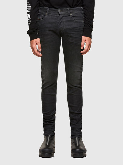 Diesel - Sleenker 009LY, Black/Dark grey - Jeans - Image 1