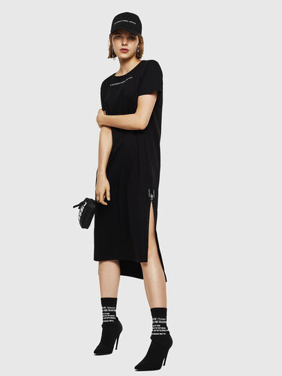 Diesel - D-FELIX-LONG, Black - Dresses - Image 6
