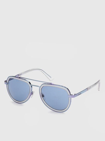 Diesel - DL0266, Blue - Sunglasses - Image 2