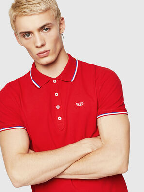 T-RANDY-NEW, Fire Red - Polos