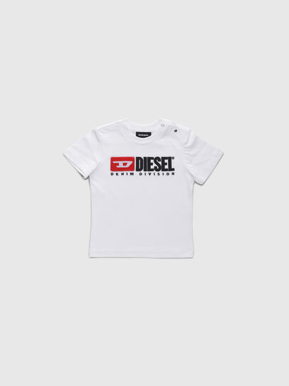 Diesel - TJUSTDIVISIONB, White - T-shirts and Tops - Image 1