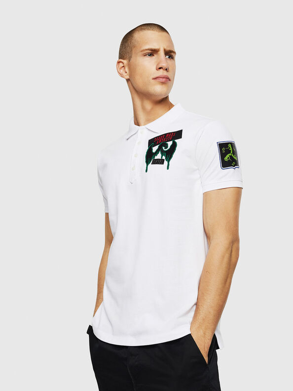 T-POLO-PATCHES,  - Polos