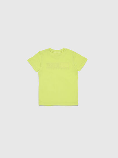 Diesel - TJUSTDIVISIONB-R, Yellow Fluo - T-shirts and Tops - Image 2