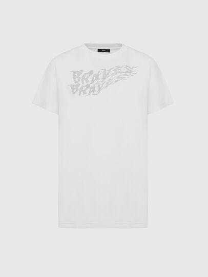 Diesel - T-DARIA-E5, White - T-Shirts - Image 1