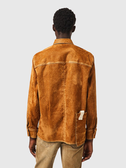Diesel - D-CORUS-SP2 JOGGJEANS, Brown - Denim Shirts - Image 2